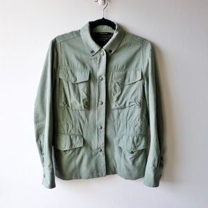 Rag & Bone Jean Snap Field Jacket 6